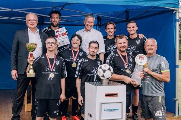 Siegerteam Inklusionsturnier