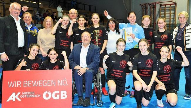 Breitenau-Siegerteam Jubel