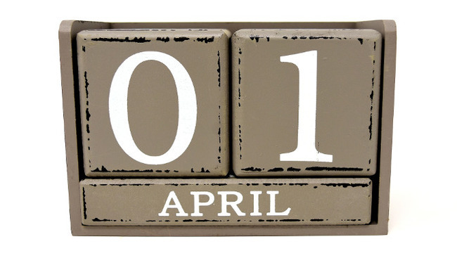 1. April Aprilscherz