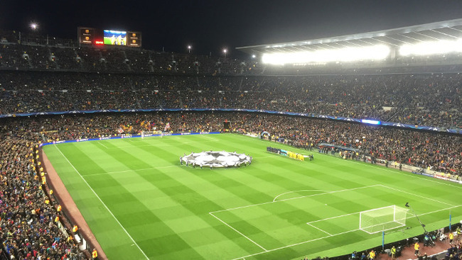 Stadion FC Barcelona Champions League