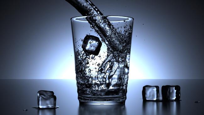 Wasserglas Glas Wasser