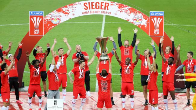 ÖFB-Cup Finale Sieg Red Bull Salzburg