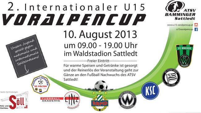 2. Internationaler U15 Voralpencup