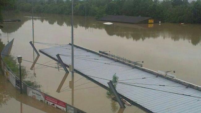 SK Schärding Hochwasser
