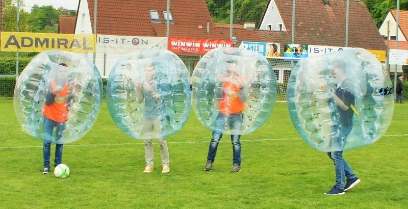 Bubble Soccer Turnier in Arnsdorf