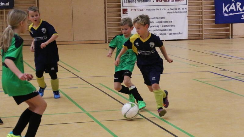 10. Futsal Hallen Cup der DSG Volksbank Ferlach