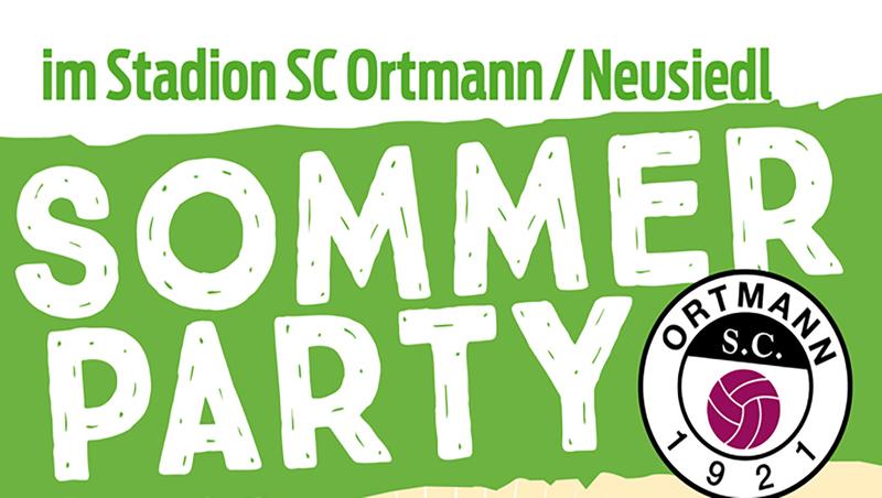 Sommer-Party beim SC Ortmann!