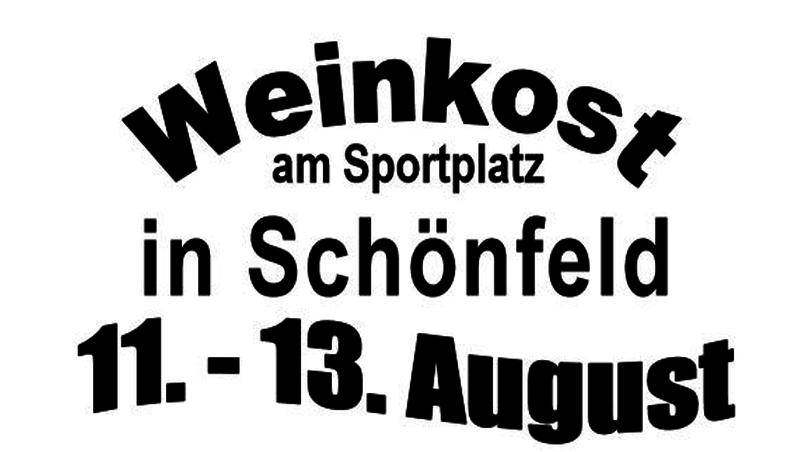 Weinkost und Auftakt in Schönfeld!