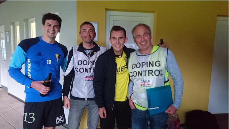 Dopingtest in der Landesliga!