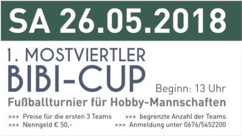 1. Mostviertler BIBI-Cup