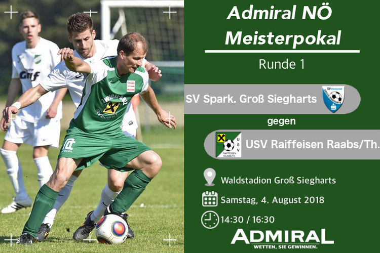 Derbytime in Admiral Nö Meistercup