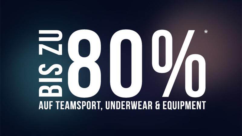 Teamsport & Underwear Artikel im SALE!