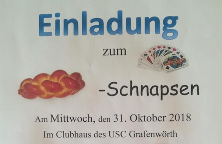 Schnapsen in Grafenwörth