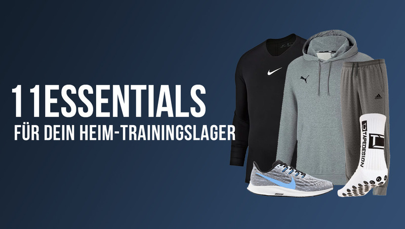 11 Must-Haves für dein Heim-Trainingslager