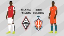 NFL-Teams in Fußballtrikots!