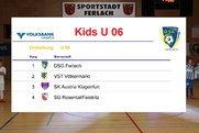 10. Futsal Hallencup der DSG Ferlach U 06