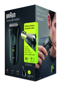 Braun Series 3 ProSkin-Packhot