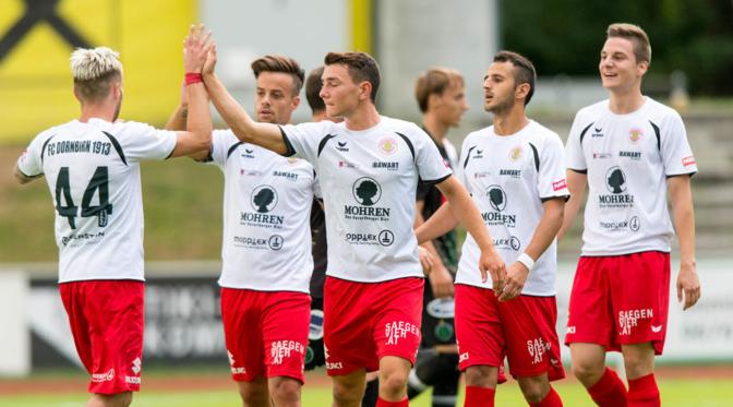 Drei Neuzugänge beim FC Dornbirn