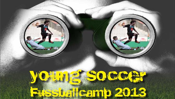 young soccer Fußballcamp 2013