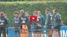 Fan schleicht sich ins Schalke Training