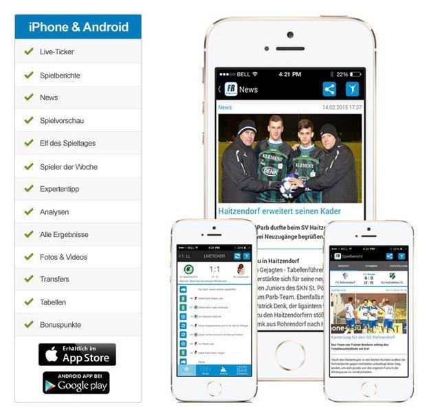 Fanreport DE App Berichte