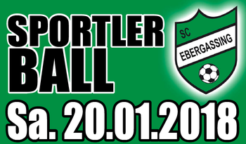 Sportlerball des SC Ebergassing