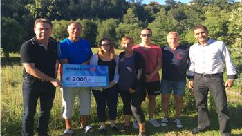 Trainerteam 2000 spendet für Wagner-Familie