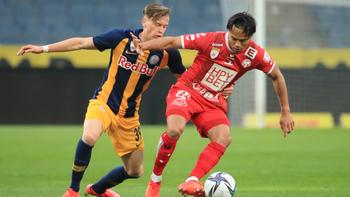 2. Liga: Siege für GAK und Wacker