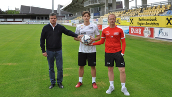 Amstetten verpflichtet Steyr-Kicker