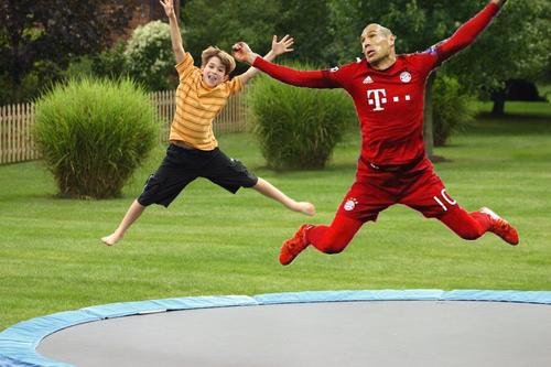 robben trampolin