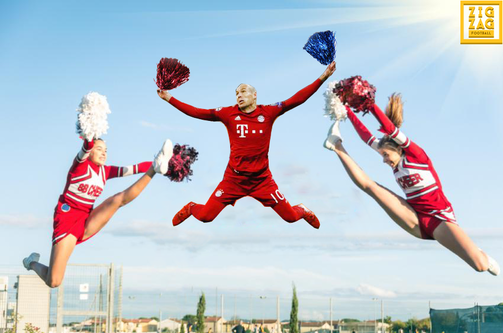 robben cheerleader meme