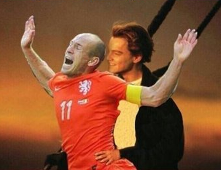 Arjen Robben Titanic