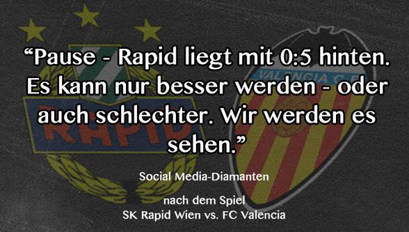 Rapid Wien Tweet