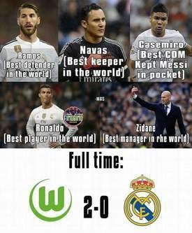 Wolfsburg vs Real 1