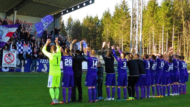 Austria Salzburg Fans