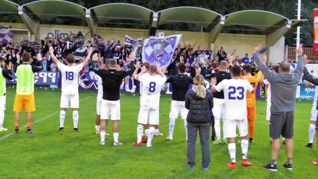 Austria Jubel Fans