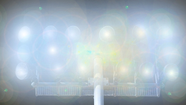 Flutlicht Symbolbild