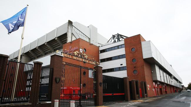 Anfield Road Außenansicht Liverpool