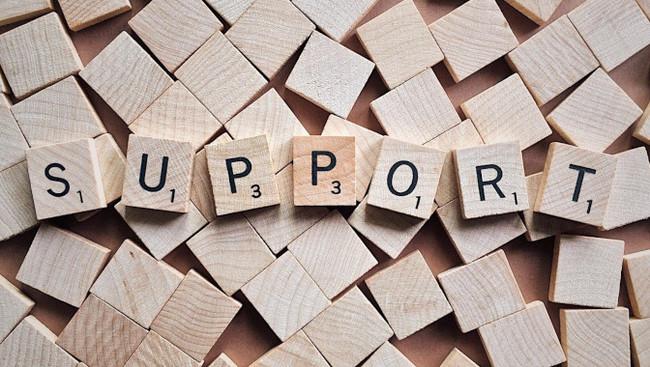 Hilfe Support Helfen Symbolbild