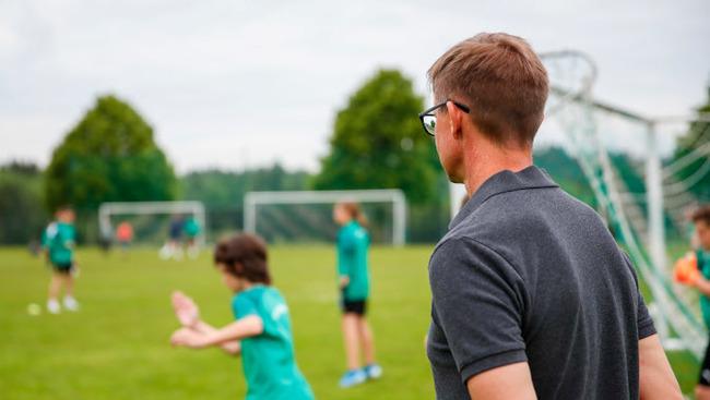Jesse Marsch Eugendorf Kinder Nachwuchsfußball