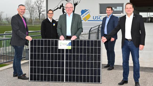 USC Mank Photovoltaik-Anlage