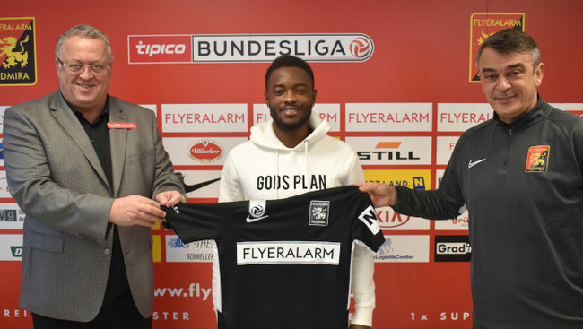 FC Flyeralarm Admira Franz Wohlfahrt David Atanga Damir Buric