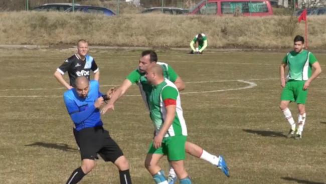 Screenshot Bulgarien Schiedsrichter-Attacke