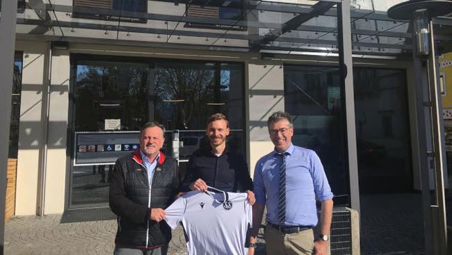 SVS Sportchef Wolfgang Oswald Thomas Ogradnig Vorstand Christian Kollenz