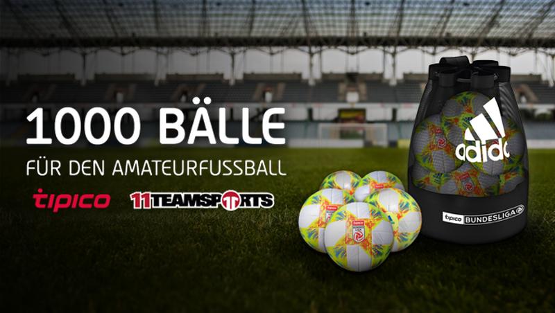 1000 Bälle für den Amateurfussball