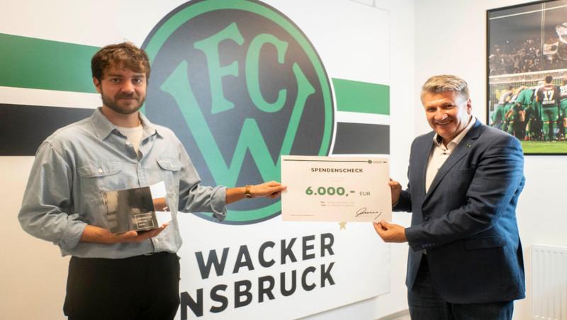 Wacker: 15.000€ für den guten Zweck