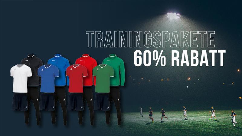 60% Rabatt auf Trainingspakete