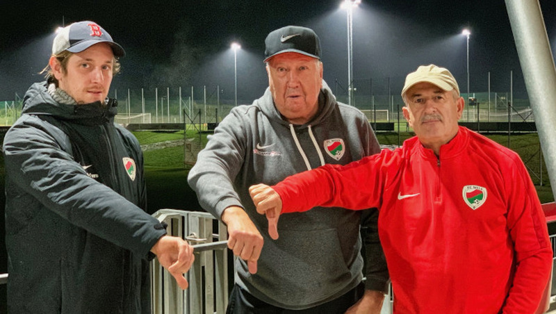 FC Wels zeigt Corona-Maßnahmen Rote Karte