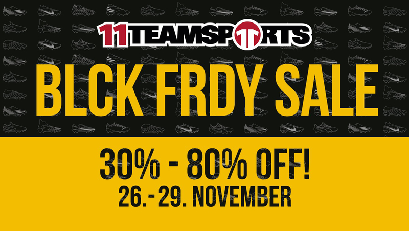 Black Friday-Sale bei 11teamsports