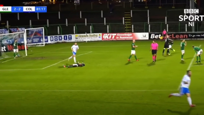 Skandal-Video: Keeper schlägt Mitspieler nieder